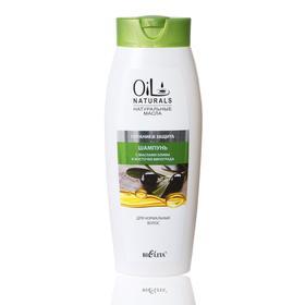 Шампунь с маслами оливы и косточек винограда BIELITA OIL д/норм. волос, 430 мл