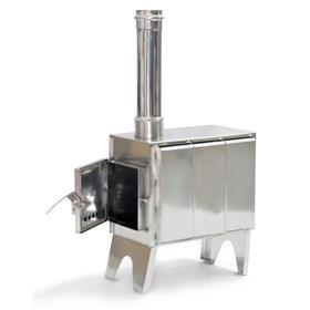 Мобильная печь «Турист», дымоход d=80 мм Ош