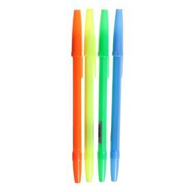 Ручка шариковая 0,7 мм, синяя, корпус NEON
