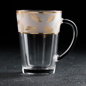 Кружка АС-ДЕКОР «Золотое перо. Стил», 250 мл