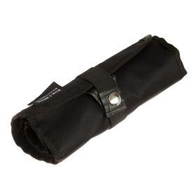 Пенал-рулон 36 предметов Koh-i-Noor 9050, без наполнения, текстильный на кнопке, черный Ош