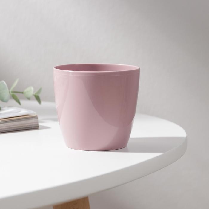 Кашпо Матильда, 180 мл, цвет розовый