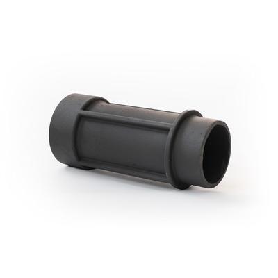Труба дымоходная стартовая чугунная, d=130 мм, 0.3 м - Фото 1