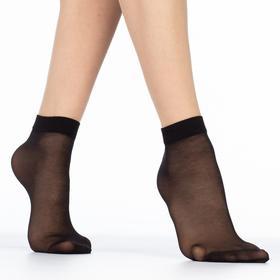 Носки женские EASY 20 lycra 20 ден (2 пары) цвет чёрный (nero,), размер 23-25 (36-40)
