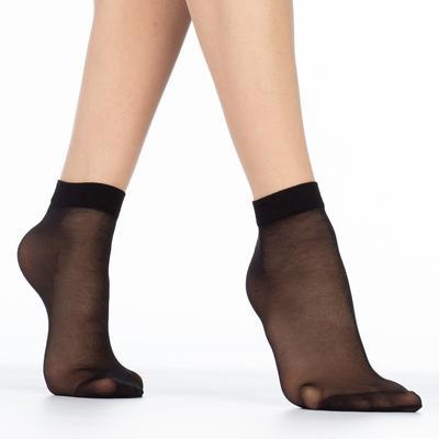 Носки женские EASY 20 lycra 20 ден (2 пары) цвет чёрный (nero,), размер 23-25 (36-40) - Фото 1