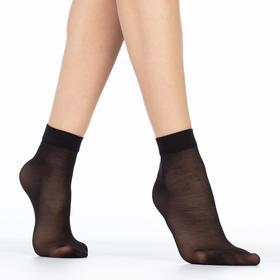 Носки женские EASY 40 lycra 40 ден (2 пары) цвет чёрный (nero), размер 23-25 (36-40)