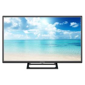 "Телевизор Hyundai H-LED32FT3001, 32"", 1366x768, DVB-T/T2/C/S/S2, HDMI 2, USB 1, черный"