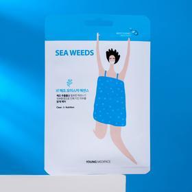 Тканевая маска-салфетка для лица Young Mediface, детокс, 25 мл