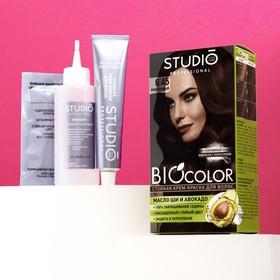 Стойкая крем краска для волос Studio Professional 6.45 Каштановый, 50/50/15 мл
