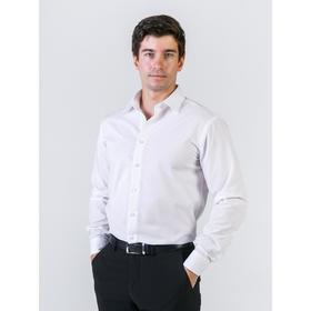 Рубашка мужская, рост 182-186, размер 43, цвет белый Ош