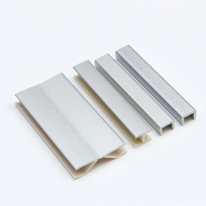 Комплект заглушек (торцевая - 2 шт., соединительная - 1 шт., мультиугол - 1 шт.), мталлик
