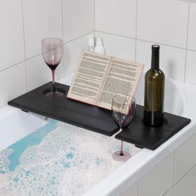Полка для ванной Relax, 68×28×4 см, цвет венге Ош