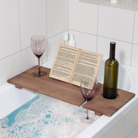 Полка для ванной Relax, 68×28×4 см, цвет орех Ош