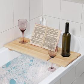 Полка для ванной Relax, 68×28×4 см, цвет сосна Ош
