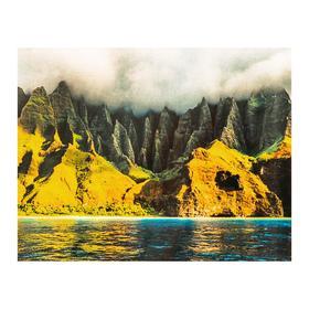 Роспись по холсту «Туман в горах» по номерам с красками по 3 мл+ кисти+инстр+крепеж, 30 × 40 см