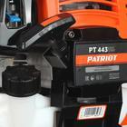 Триммер бензиновый PATRIOT PT443, 1.8 кВт, 2.5  л.с, 8000 об/мин, скос 44/25.5 см, леска/нож   69718 - Фото 15
