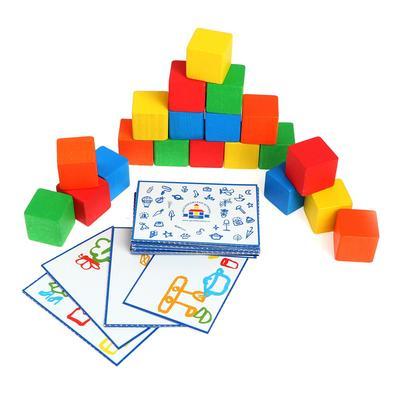 Цветные кубики «Кто быстрее?» - Фото 1