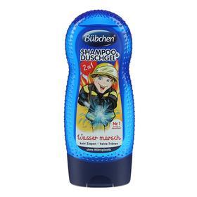 Детский шампунь и гель для душа Bubchen «Храбрый пожарный», 230 мл
