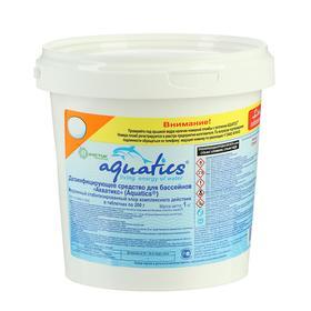Дезинфицирующее ср-во медленный стабилизированный Хлор компл. действия таблетка (200 г) 1 кг