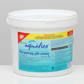 Регулятор pH Aquatics плюс гранулы, 5 кг