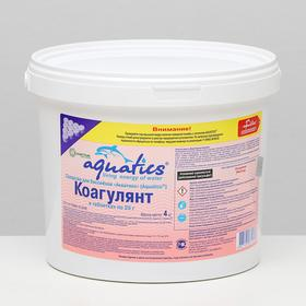 Коагулянт Aquatics в таблетках (25 г), 4 кг