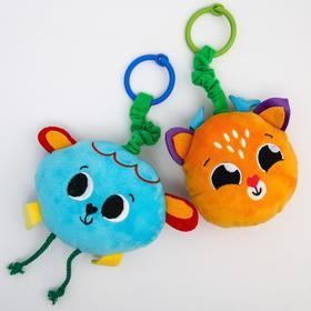 Развивающая игрушка - подвеска «Малыши», музыкальная, виды МИКС, р-р 25-30