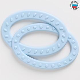 Прорезыватель силиконовый «Восьмерка», цвет МИКС
