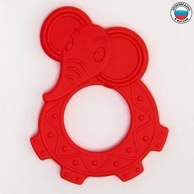Прорезыватель силиконовый «Веселый зоопарк», цвет МИКС