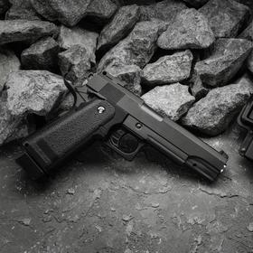 Пистолет страйкбольный Galaxy Beretta 92 G.052BL c ЛЦУ, 6 мм Ош