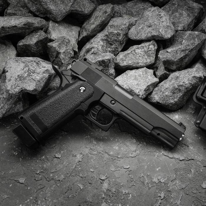 Пистолет пружинный Galaxy Beretta 92 G.052BL c ЛЦУ, 6 мм
