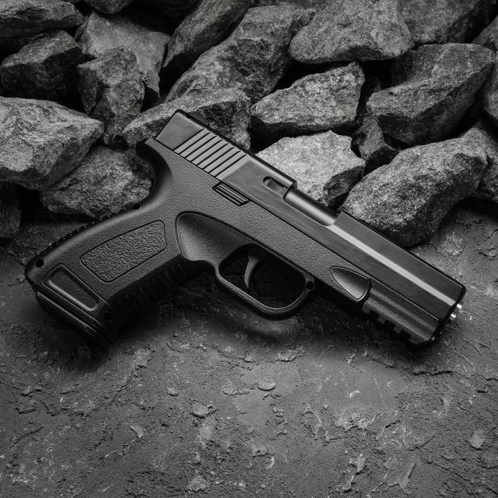 Пистолет пружинный Galaxy Colt 1911 G.39, цвет черный, 6 мм