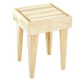 Табурет деревянный, 32х32х45 см Ош