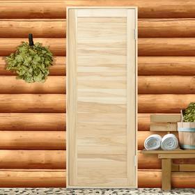 Дверь для бани из шпунтованной доски, Эконом, 180х70 см Ош