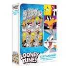 """КПБ 1.5 """"Looney Tunes"""" Луни Тюнс 143х215, 150х214, 70х70см 1шт, поплин 105гм хл100% - Фото 3"""