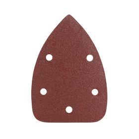 """Треугольник шлифовальный на """"липучке"""" PATRIOT, 140х140х80мм, Р60, 5 отверстий"""