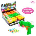 Игрушка с конфетками «Пистолет», МИКС - Фото 1