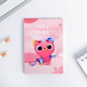 Блокнот А7 16 листов «Мой блокнотик котик» Ош