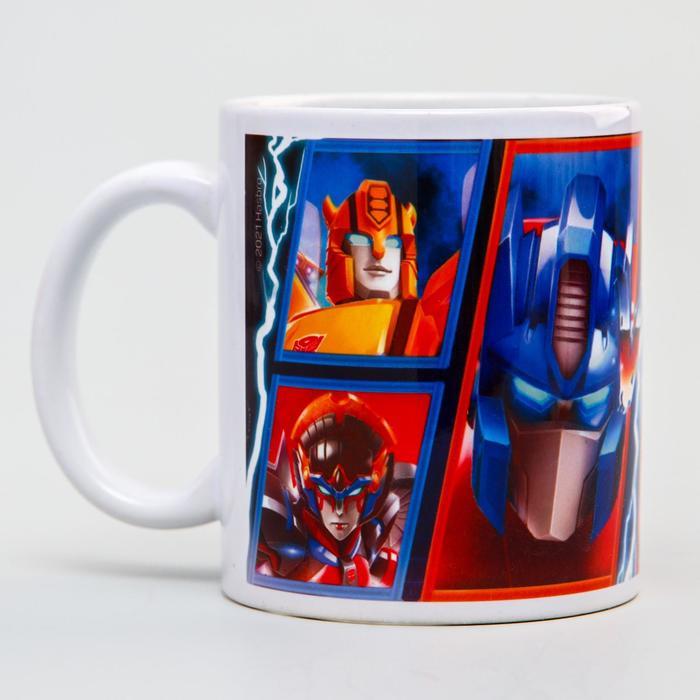 """Кружка сублимация """"Autobots vs Decepticons"""",Transformers , 350 мл."""