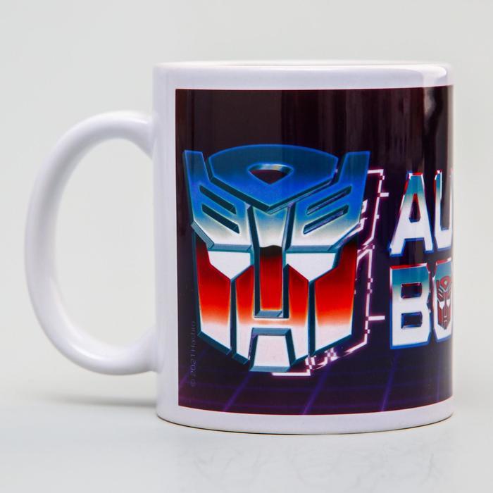 """Кружка сублимация """"AUTOBOTS"""", Transformers, 350 мл."""