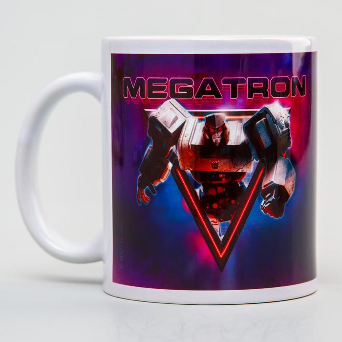 "Кружка сублимация ""Megatron"",Transformers , 350 мл."