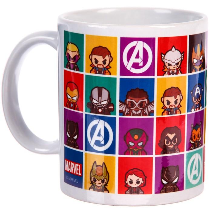 """Кружка сублимация """"Marvel"""", Мстители, 350 мл."""