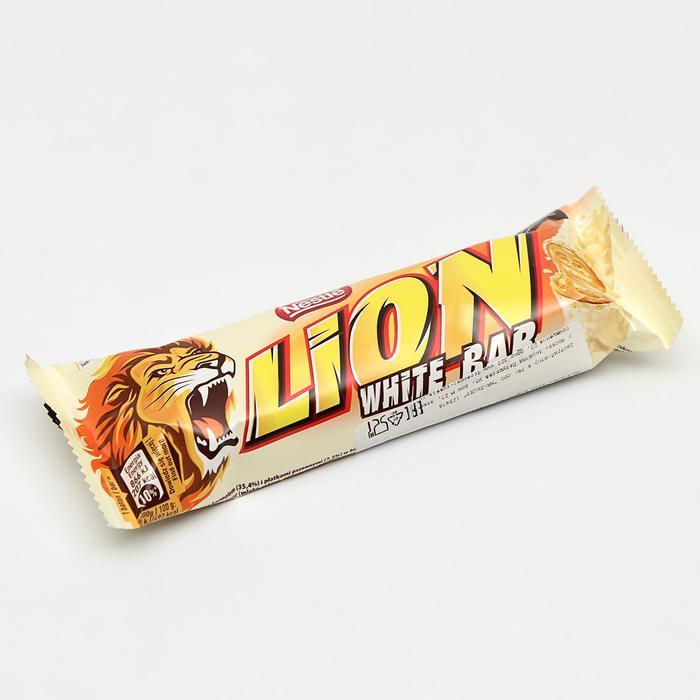 Батончик Lion White Chocolate Bar, 42 г
