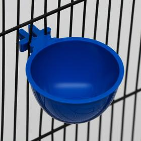 Миска для грызунов и птиц, 30 мл, синяя Ош