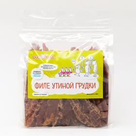 Лакомство для собак Dog fest филе утиной грудки, 500 г