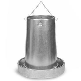 Кормушка бункерная 20 кг оцинкованная сталь