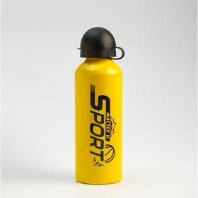 """Бутылка для воды """"Мастер К."""" 500 мл, алюминий 6.5х21 см"""