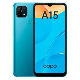 """Смартфон OPPO A15, 6.52"""", LCD, 2 Гб, 32 Гб, 13 Мп, 4230 мАч, синий"""