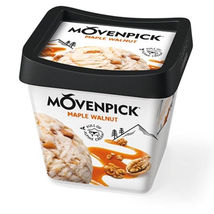 Мороженое Movenpick грецкий орех с кленовым сиропом, 500 мл