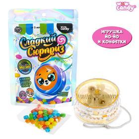 Набор с конфетками «Сладкий сюрприз», игрушка, йо-йо