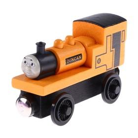 Детский паровоз для железной дороги 3,4×8,6×5,1 см